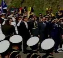 Ceremonia por Batalla del Pichincha se realizó en Quito