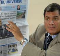 Correa pide por segunda vez en cuatro días no comprar diarios