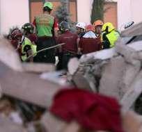 Asciende el número de muertos tras el terremoto ocurrido en Italia