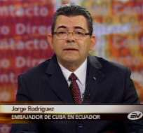 Embajador Rodríguez: EE.UU. no tiene autoridad moral sobre DDHH