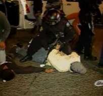 La policía frustró un intento de 'secuestro express' en Quito