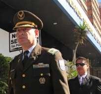 Coronel Carrión se reincorporó este viernes a la Policía Nacional