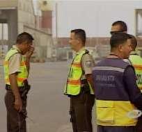 Magap realizó operativo en Andipuerto para evitar salida de maíz importado