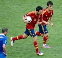 España e Italia igualaron a 1 en su debut en la Eurocopa