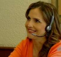 Gabriela Baer dejó las cámaras para compartir el VideoChat con sus seguidores