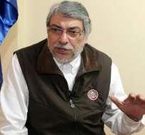 Lugo rechaza sanciones económicas del Mercosur a su país