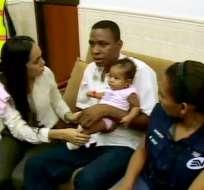 Policía encontró a la menor Naomi Ruiz, raptada hace un mes