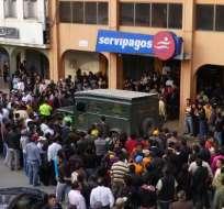 Dos muertos y cuatro heridos deja un asalto frustrado en Loja