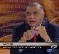 Lara: Fiscal Chiriboga es un forjador de documentos públicos