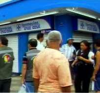 Farmacias fueron clausuradas por vender fármacos del Ministerio de Salud