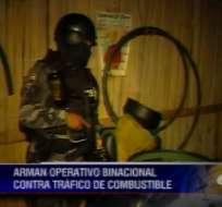 Trece detenidos en operativo en Huaquillas