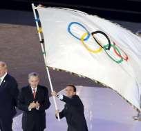 Brasil recibió la bandera de los olímpicos, oficialmente
