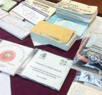 Se dicta prisión preventiva a detenidos por falsificación de firmas