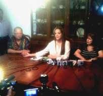 Dalo Bucaram y su esposa se pronuncian por denuncia del Gobierno