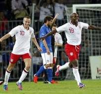 Inglaterra se desquitó ante Italia gracias a Defoe