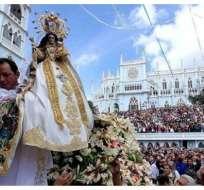Peregrinos de la Virgen iniciaron su recorrido hacia Loja