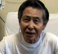 Expresidente Fujimori será operado de nuevo por lesiones en la lengua