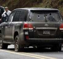 Diplomáticos de EE.UU. heridos por disparos de la Policía mexicana