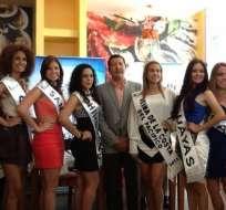 La elección de la Miss Costa del Pacífico 2012 se realizó con lo mejor de la belleza ecuatoriana