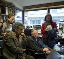 Vicepresidente de Ecuador se reunió con Stephen Hawking