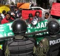 Denuncia penal de Morales contra tres medios moviliza a los periodistas