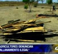 Agricultores de tercera edad en Manabí denuncian allanamiento ilegal