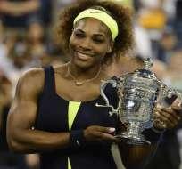 Serena Williams culmina verano de ensueño como nueva campeona del Abierto