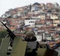 Policía ocupa una favela de Río de Janeiro tras matanza de seis adolescentes