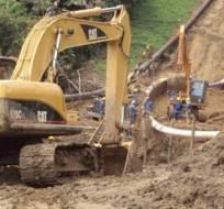 Varios sectores del norte de Guayaquil sin agua por tubería dañada