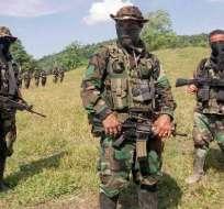 Policía colombiana captura a presunto jefe de grupo paramilitar