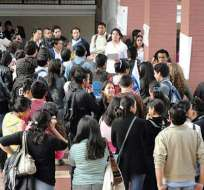 Estudiantes de la Universidad Central están preocupados por falta de clases