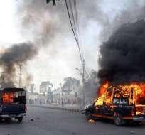 14 muertos en Pakistán en protestas por el video contra Mahoma