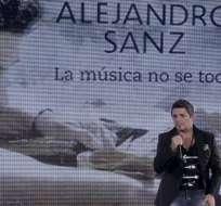 Alejandro Sanz girará con su disco por Latinoamérica, incluida Venezuela