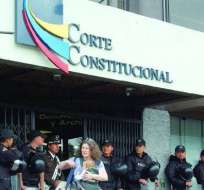 Aspirantes a la nueva Corte Constitucional rindieron hoy examen de conocimientos