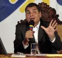 Correa dice que funcionaria despedida filtró datos sobre caso Duzac