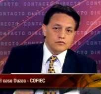 Villavicencio: Si Correa quiere verme en la cárcel, que también esté Duzac