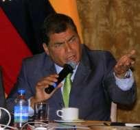 Correa dice que prohibición de transgénicos es un 'error'