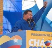 Chávez promete ser 'mejor presidente' si logra su tercera reelección
