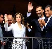 Príncipe Felipe y Correa afianzan buena sintonía entre España y Ecuador
