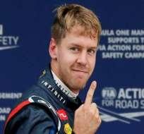 Vettel logró la tercera mejor marca de 'poles' en F1 de la historia