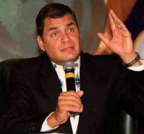 Correa: Préstamo sospechoso a ciudadano argentino es 'vinculado'