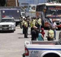 Hoy inician los operativos por el feriado en Ecuador