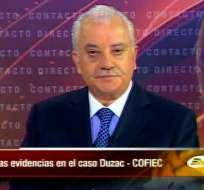 Galo Chiriboga: Nosotros no estamos para encubrir absolutamente nada