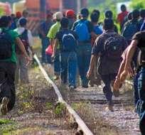Una de cada 100 personas en el mundo se ve obligada a migrar, según Cruz Roja