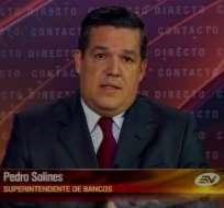 Pedro Solines: Delgado no aparece en investigaciones del caso Duzac