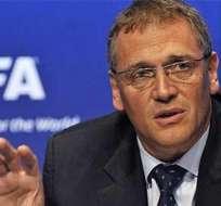 Secretario general de la FIFA fue hospitalizado