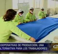 Cooperativas de producción, una alternativa para los trabajadores