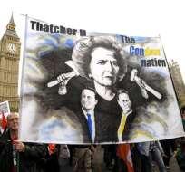 Más de 100 mil personas protestan en Londres contra los recortes