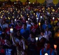 Centenares de jóvenes pidieron respeto por la vida