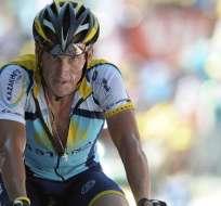 Despojan los siete títulos del Tour de Francia a Lance Armstrong